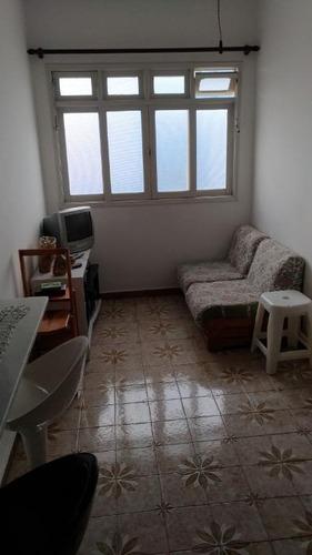 apartamento residencial à venda, antártica, praia grande. -