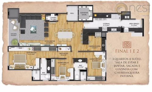 apartamento residencial à venda. - ap0477