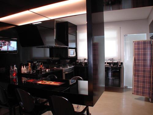 apartamento residencial à venda, aparecida, santos - ap0001. - ap0001