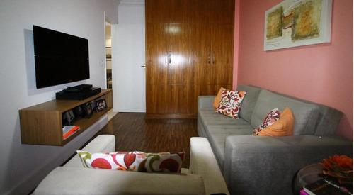 apartamento residencial à venda, aparecida, santos - ap0543. - ap0543