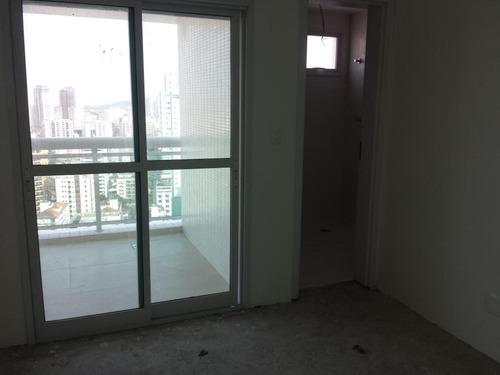 apartamento residencial à venda, aparecida, santos - ap0552. - ap0552