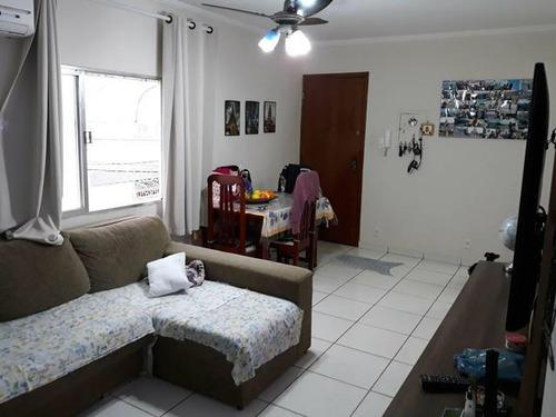 apartamento  residencial à venda, aparecida, santos. - ap2380