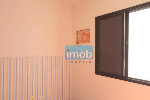 apartamento residencial à venda, aparecida, santos. - ap6061