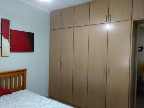 apartamento residencial à venda, aparecida, santos. - ap6771