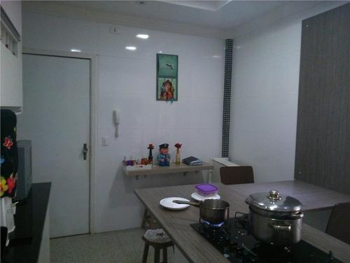 apartamento residencial à venda, aparecida, santos. - codigo: ap0146 - ap0146