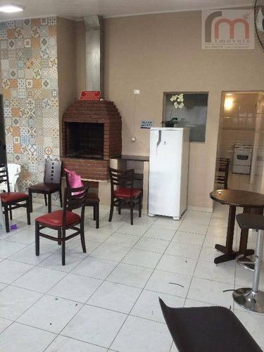 apartamento  residencial à venda, aparecida, santos. - codigo: ap1815 - ap1815