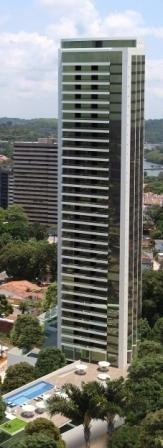 apartamento residencial à venda, apipucos, recife. - ap1193