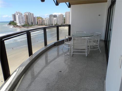 apartamento residencial à venda, astúrias, guarujá. - ap0606