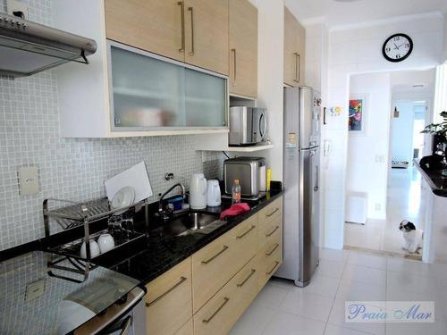 apartamento residencial à venda, astúrias, guarujá. - ap1692