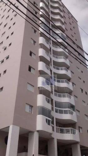 apartamento  residencial à venda, aviação, praia grande. - ap0059