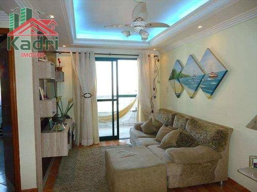 apartamento residencial à venda, aviação, praia grande. - ap0210