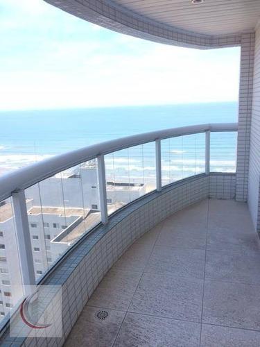 apartamento  residencial à venda, aviação, praia grande. - ap0320