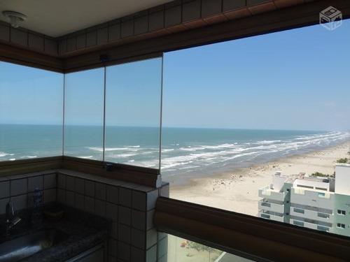 apartamento  residencial à venda, aviação, praia grande. - ap0335