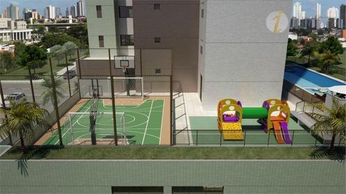 apartamento  residencial à venda, bairro dos estados, joão pessoa. - ap0018