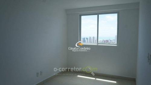 apartamento residencial à venda, bairro dos estados, joão pessoa. - ap0099