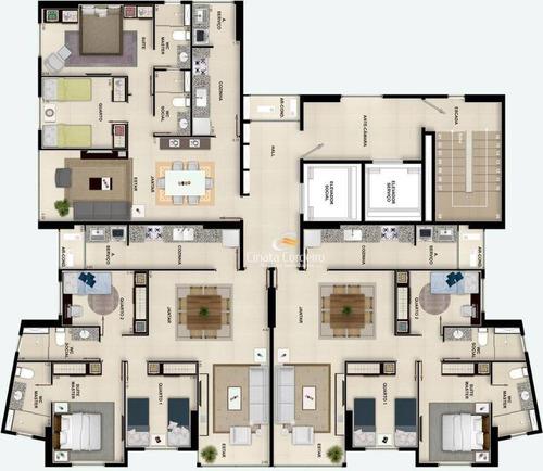apartamento residencial à venda, bairro dos estados, joão pessoa. - ap0162