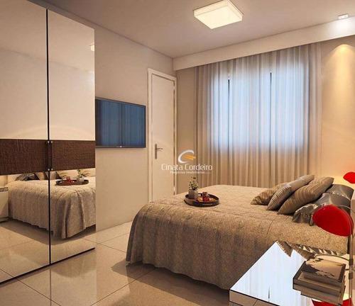 apartamento residencial à venda, bairro dos estados, joão pessoa. - ap0324