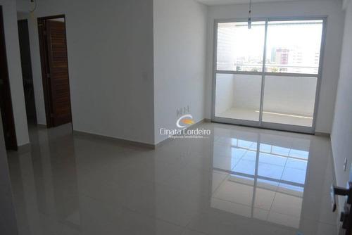 apartamento residencial à venda, bairro dos estados, joão pessoa. - ap1332