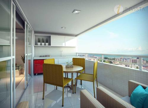 apartamento residencial à venda, bairro dos estados, joão pessoa. - ap5359