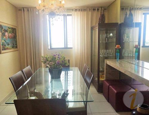 apartamento residencial à venda, bairro dos estados, joão pessoa. - ap5694