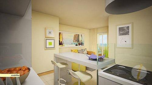 apartamento residencial à venda, bairro dos estados, joão pessoa. - ap5815
