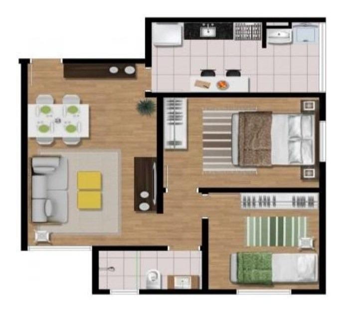 apartamento residencial à venda, bairro inválido, cidade inexistente - ap0434. - ap0434 - 33597985