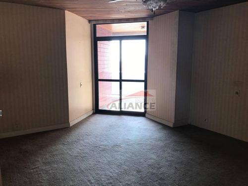 apartamento residencial à venda, bairro jardim, santo andré. - ap0002