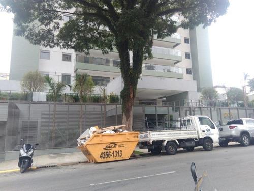 apartamento residencial à venda, bairro jardim, santo andré. - ap1453