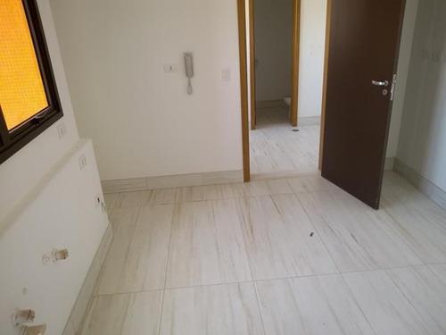 apartamento residencial à venda, bairro jardim, santo andré. - ap1465