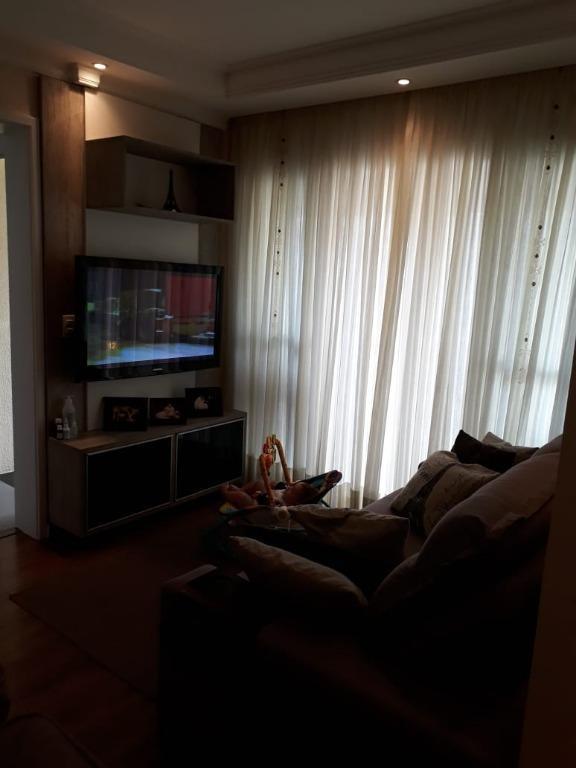 apartamento residencial à venda, bairro jardim, santo andré. - ap1931