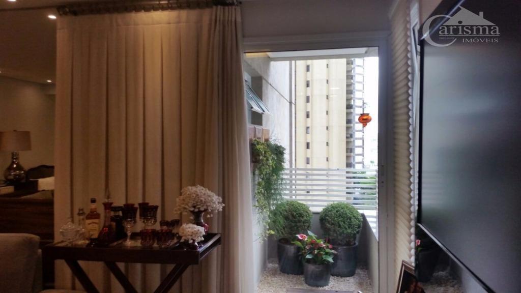 apartamento residencial à venda, bairro jardim, santo andré. - ap2790