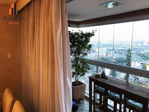 apartamento residencial à venda, bairro jardim, santo andré. - ap4496