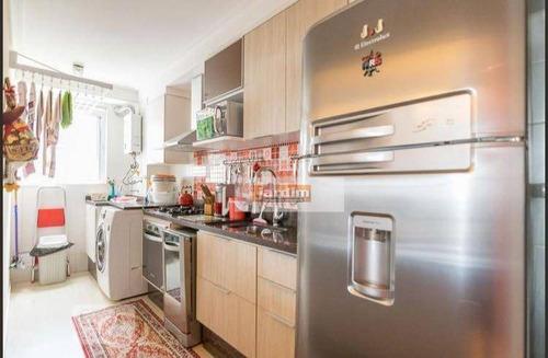 apartamento residencial à venda, bairro jardim, santo andré. - ap5685