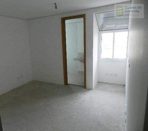 apartamento residencial à venda, bairro jardim, santo andré. - codigo: ap0003 - ap0003