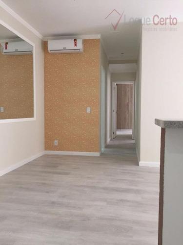 apartamento residencial à venda, bairro pau preto, indaiatuba. - ap0196