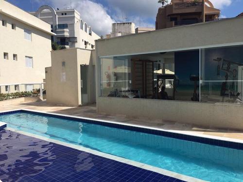 apartamento residencial à venda, balneário cidade atlântica, guarujá. - ap0959