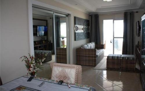 apartamento  residencial à venda, balneário maracanã, praia grande.