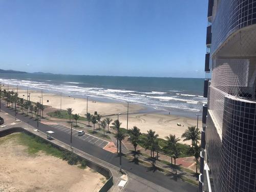 apartamento residencial à venda, balneário maracanã, praia grande. - ap1046
