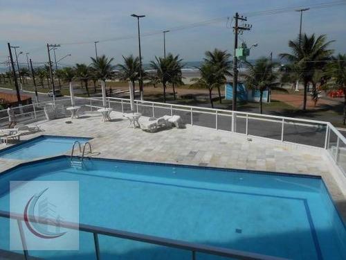apartamento residencial à venda, balneário maracanã, praia grande. - ap2129