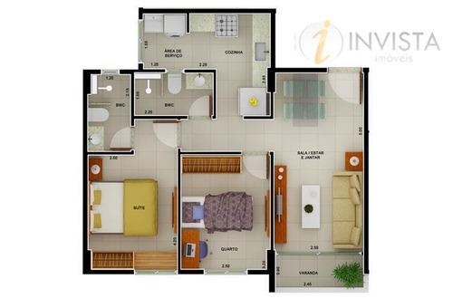 apartamento residencial à venda, bancários, joão pessoa - ap1997. - ap1997