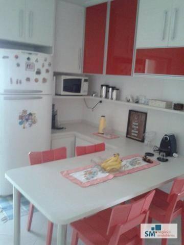 apartamento residencial à venda, barcelona, são caetano do sul. - ap1507