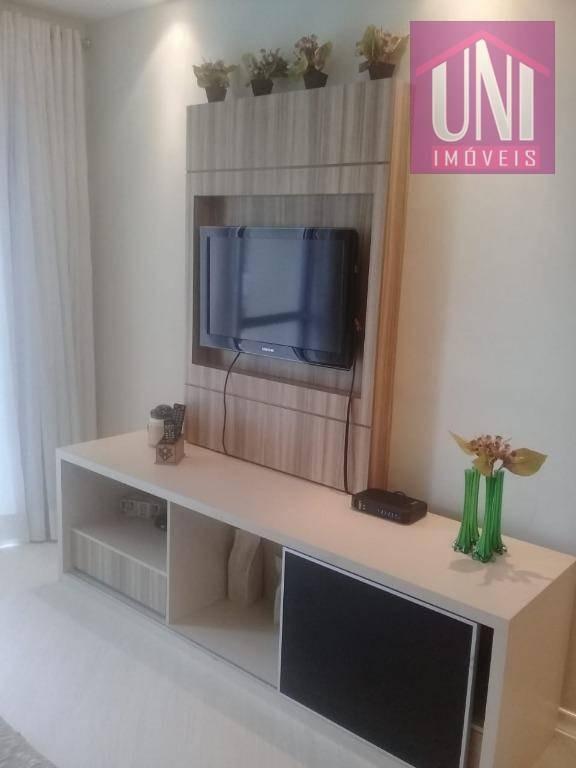 apartamento residencial à venda, barcelona, são caetano do sul. - ap1552