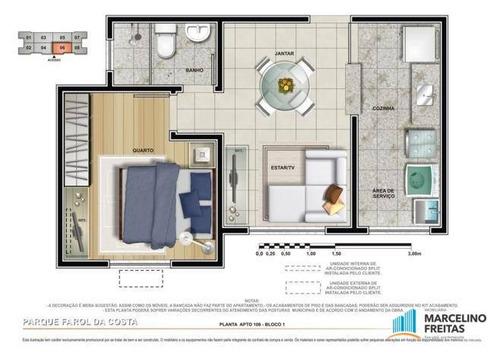 apartamento residencial à venda, barra do ceará, fortaleza - ap2346. - ap2346