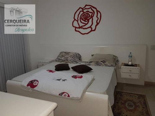 apartamento residencial à venda, barra funda, guarujá. - ap0053