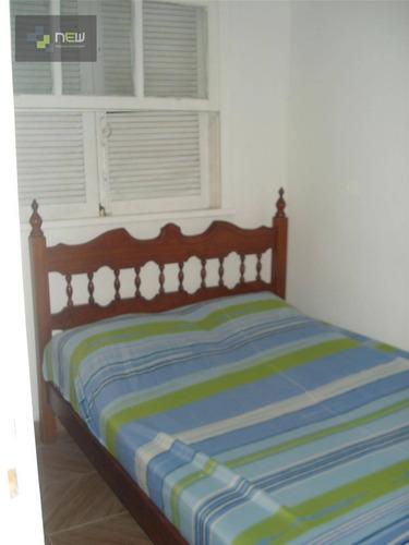 apartamento residencial à venda, barra funda, guarujá. - ap0056