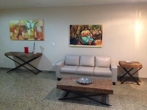 apartamento  residencial à venda, barra funda, guarujá. - ap0586