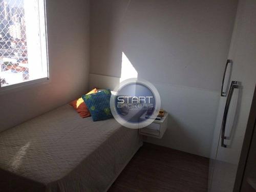 apartamento residencial à venda, barra funda, são paulo. - ap0294