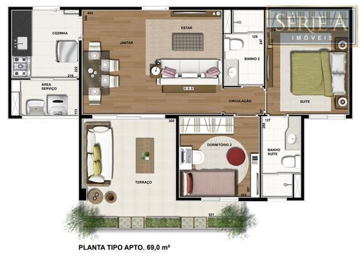 apartamento residencial à venda, barra funda, são paulo. - ap1148