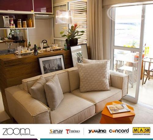apartamento residencial à venda, bela vista, são paulo. - ap1321