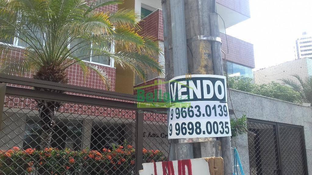 apartamento residencial à venda, boa viagem, recife. - ap0782
